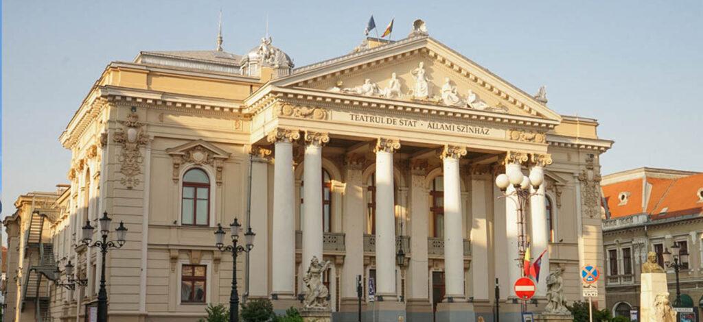Oradea - Teatrul de Stat - Regina Maria