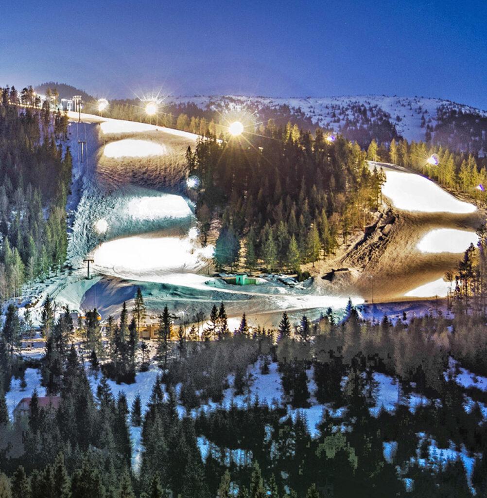 Satul de vacanță Vârtop - Pârtii de schi